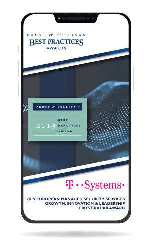 T-Systems Award Graphic