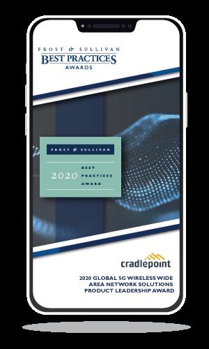 cradlepoint Award