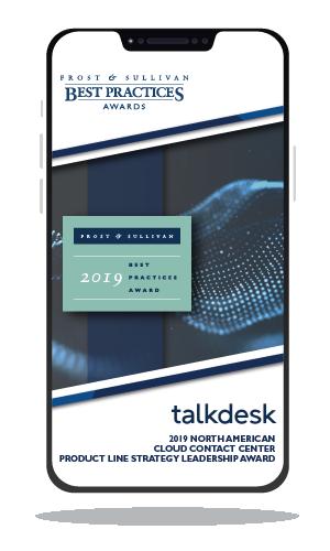 Talkdesk Award Write Up