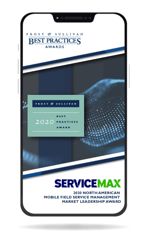 ServiceMax Award Graphic