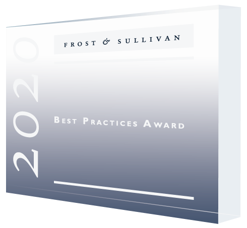 2020 Award Plaque Siemens