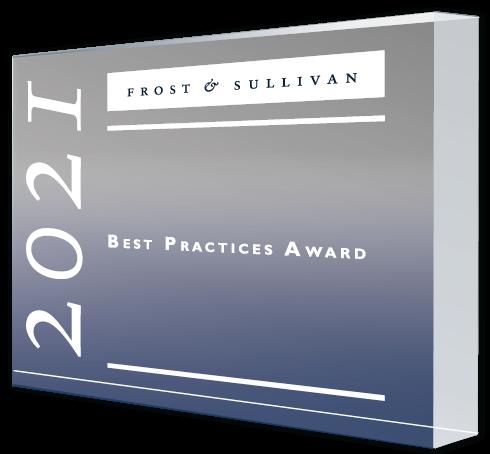 Eaton 2021 Award Plaque