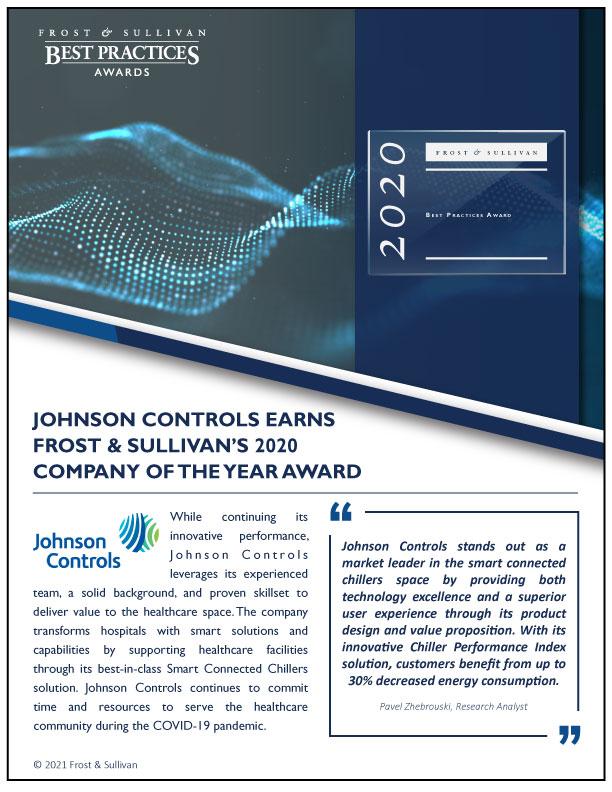 Johnson Controls Landing Page