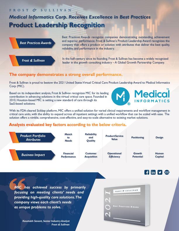 Medical Informatics Award